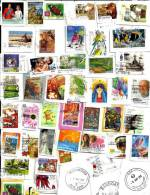 """AUSTRALIA LOT75 MIXTURE OF50+ USED STAMPS SOME 2010/12 & $3 """"FISHES"""" ETC.READ DESCRIPTION!! - Lots & Kiloware (mixtures) - Max. 999 Stamps"""