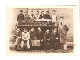 Photo 17cm X 13 Cm 1945 Classe Ac Luttre , Voir Maquette Miniature Locomotive Charbon - Belgium