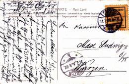 1906 - VIGNETTE MILITAIRE ALLEMANDE Sur CARTE POSTALE De LEIPZIG Pour WURZEN - SOLDATEN BRIEF - Covers