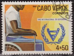 Cabo Verde 1981 Scott 435 Sello * Christmas Año Internacional Discapacitados 4,50E Cape Verde Stamps Timbre Cap-Vert - Islas De Cabo Verde