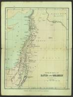 """A C1950 Religious Map Of  """"Dominions Of David And Solomon"""". - Maps"""