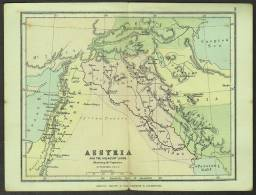 """A C1950 Historical Map Of  """"Assyria"""". - Maps"""