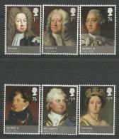 Groot Brittannie  2011 The Age Of The Hanoverians 3536/3541  *** - 1952-.... (Elizabeth II)