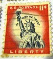 United States 1954 Liberty 11c - Used - Oblitérés
