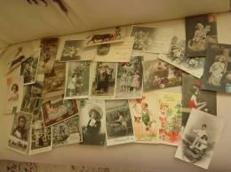 LOT De 88 CPA Cartes Postales FANTAISIE Femme Enfant Bebe Et Divers A Saisir - 5 - 99 Cartes