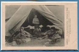 SCOUTISME --  Raréges - Le Camp Bernard Rollot - Intérieur De La Tente - Scoutisme