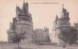 CPA 24  LAMBERTIE ,le Château. - Frankreich