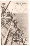 Cpa Marcophilie Cachet Militaire 1er Régiment De Tirailleurs Marocains 29em Compagnie Maroc Sur Cpa - Marcofilie (Brieven)