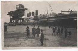 Le Steamer France A Quai - Dampfer