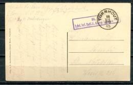 """S/w AK Belgien Turnhout 1915 Allemagne Feldpost""""Turnhout-Hopital ,Hospital  """" 1 AK Bef. - Army: German"""