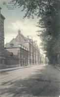 BRUXELLES : Hôpital Militaire - Avenue De La Couronne - RARE CPA - Cachet De La Poste 1908 - Elsene - Ixelles