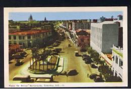 RB 900 - Coloured Postcard - Paseo De Bolivar - Barranquilla Colombia - South America - Colombia