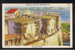 RB 900 - Coloured Postcard - Castillo De San Jose - Cartagena Colombia - South America - Colombia