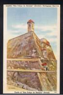 RB 900 - Coloured Postcard - Castillo San Felipe De Barajas - Cartagena Colombia - South America - Colombia