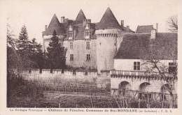 CPA 24 SAINTE-MONDANE , Château De Fénelon. - Frankreich