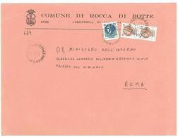 ROCCA DI BOTTE  67066  L'AQUILA   ANNO 1980 -  LS  FTO18X24 - STORIA POSTALE DEI COMUNI D´ITALIA - POSTAL HISTORY - Affrancature Meccaniche Rosse (EMA)