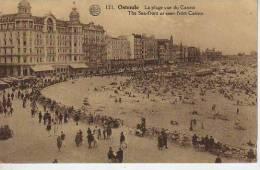 LA PLAGUE VUE DU CASINO  CIRCA 1900  OOSTENDE  BELGICA   OHL - Oostende