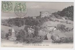 (Suisse)  SAINT - CERGUE Et Le Mont Blanc   /1129 - JU Jura