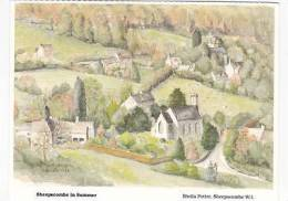 SHEEPSCOMBE IN SUMMER - Angleterre
