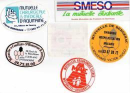 Autocollant Mutuelle - Smeso, Afnor, Mae, Bergerac, Médicale, Conflans (6) - Stickers