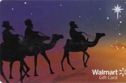 USA - Christmas, Walmart Magnetic Gift Card, Unused - Gift Cards