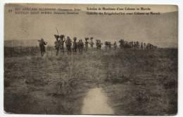 CP Vue 27 Belgisch Congo Belge Surchargé EST AFRICAIN ALLEMAND/DUITSCH OOST AFRICA  15 C Unused AP190 - Entiers Postaux