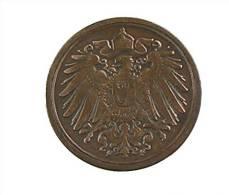 Allemagne - 1 Pfennig - 1892 F - Cuivre - TB+ - [ 2] 1871-1918 : Empire Allemand