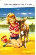 TAYLOR - Nous Nous Amusons Bien à La Mer - Ane - Ezel - Donkey - Taylor