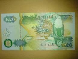 Twenty Kwacha - Zambia