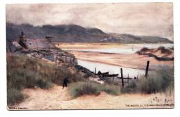 BR39431 The Mouth Of The Mawodach  Barmouth     2 Scans - Pays De Galles