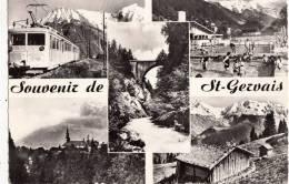 BR30076 Saint Gervais Les Bains Le TMB Au Plateau De Bellevue    2 Scans - Saint-Gervais-les-Bains