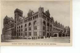 Windsor Street Station And Head Offices Can. Pac. Ry. Montreal 1927 - Montreal