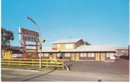 Brandon Manitoba Canada, Western Motel, Lodging, C1960s Vintage Postcard - Other