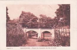 Belgian Congo Mayumbe Pont Du Chemin De Fer A Luki - Belgian Congo - Other