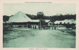 Belgian Congo Rungu Entree De La Mission - Belgian Congo - Other