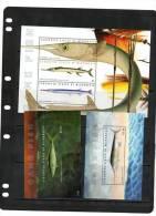 MICRONESIA,2011,MARINELIF E,  GAME FISH , SHEETLET+2 S/SHEETS ,MNH. - Marine Life