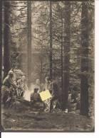 Vosges Autour D'un Feu  Poilus 1914-1918 14-18 Ww1 WWI 1.wk - War, Military