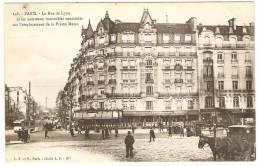PARIS   ------   La Rue De Lyon Et Les Nouveaux Immeubles Construits Sur L'emplacement De La Prison Mazas - Other Monuments