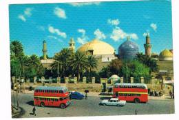 ASIA-494    IRAQ : BAGHDAD :the Holy Mausoleum ( Old Busses And Cars) - Iraq