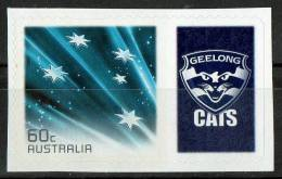 Australia 2011 Geelong Cats Football Club Right With 60c Blue Southern Cross Self-adhesive MNH - Mint Stamps