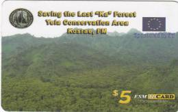 "MICRONESIA - Saving The Last ""KA"" Forest, FSM Tel Prepaid Card $5, Used - Micronesia"