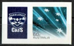 Australia 2011 Geelong Cats Football Club Left With 60c Blue Southern Cross Self-adhesive MNH - Mint Stamps