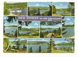 Cp, Allemagne, Der Titisee Im Sûdl. Schwarzwald, Multi-Vues, Voyagée 1967 - Germany