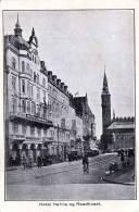 Dänemark, KOPENHAVN, Hotel Hafnia Og Raadhuset, Gelaufen 1936, S Fach Frankierung - Dänemark
