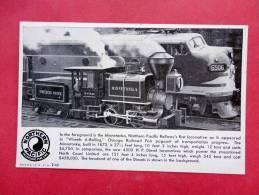 Northern Paiific  Minnetonka  ----------- --------- Ref 739 - Trains