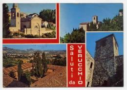 Italie--Saluti Da VERUCCHIO--1990--Vues Diverses,cpm N° 762  éd Gross - Italie