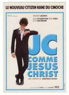 CP Affiche  JC Comme Jésus Christ, Lacoste, Zylberstein, Atika, Waldmann, Jonathan Zaccai - Plakate Auf Karten