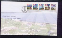 Canada, 2007. # 2249-53. OFDC, Lighthouses  Good Condition - 2001-2010