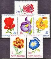 Romania  2249-54   *   FLOWERS  ROSES - 1948-.... Republics