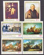 Romania  2603-8  *   AMER. BICENTENNIAL  PAINTINGS - 1948-.... Republics